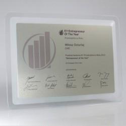 Dyplom szklany