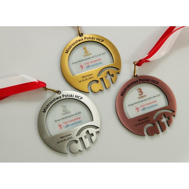 szklane medale