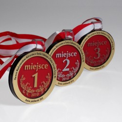 Sklenená medaila