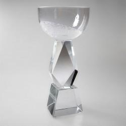 Sklenený športový pohár -...
