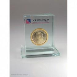 Przycisk szklany z monetą K4-5