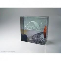 Przycisk szklany K-5ZD z fotografią - GlasWelten