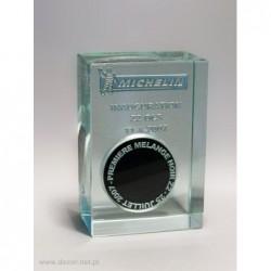 Przycisk szklany z Gumą...