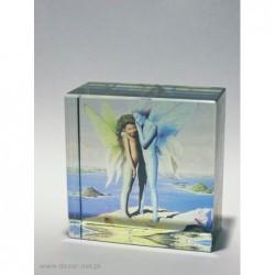 Przycisk szklany K-5ZD z fotografią - zdjęciem