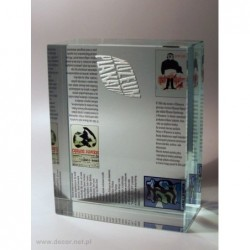 Przycisk szklany z fotografią K-7ZD Muzeum