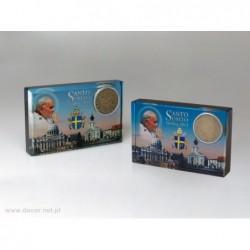 Przycisk szklany - Papież Jan Paweł II