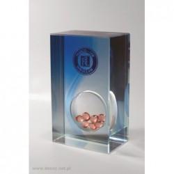 Przycisk szklany z farmaceutykami K-7