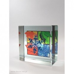 Przycisk szklany z fotografią K-5ZD Farby