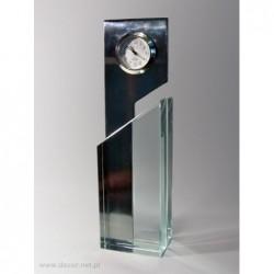 Zegar szklano-metalowy Y-48