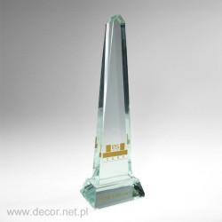Statuetka szklana iglica