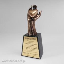 Bronzová soška - ručné -...