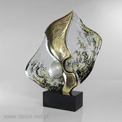 Statuette in Bronze gegossen
