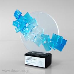 Sklenené ocenenia - Fusing-
