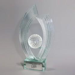 Statuetka szklana - Fusing