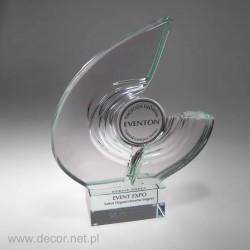 Statuetka szklana - Fusing -