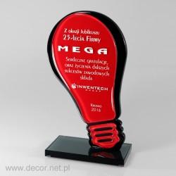 Sklenená soška - Fusing - Sklenené ocenenia