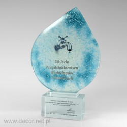 Glass statuette - Fusing - Glass awards