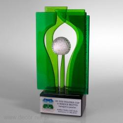 Sklenené ocenenia - Fusing - Sklenená soška výrobca