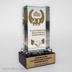 sklenené ocenenia