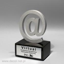 Statuetka ING - Virtual