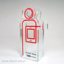 Sklenené ocenenia mobilných trhoch Pre098