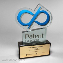 Glass awards Design patent...