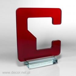Sklenené ocenenia Produkt roka Pre115