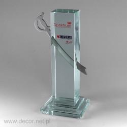Sklenené ocenenia Spectrum...