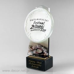 Sklenené ocenenia festival...