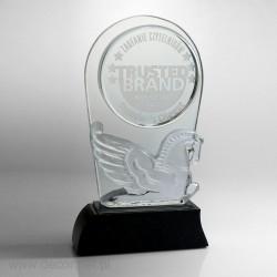 Ekskluzywna kryształowa Statuetka dla READER'S DIGEST