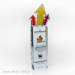 Sklenené ocenenia UNIBEP...