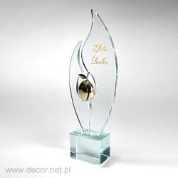 Zlatá slivková soška Pre240