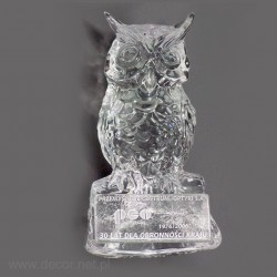 statuette of owl