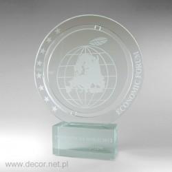 Sklenené ocenenia Economic...