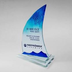 Glass trophies sailing