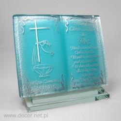 A baptism souvenir
