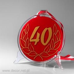 Medal na 40 urodziny