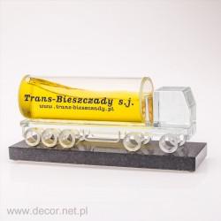 szklana miniatura
