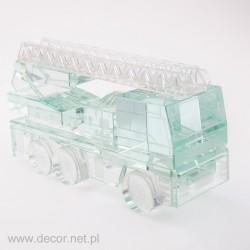 Sklo miniatúrne Požiarny motor