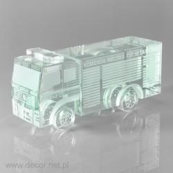 Glass miniature Fire truck