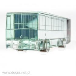 Sklo miniatúrne autobus