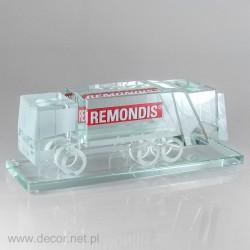 Miniaturfahrzeug  Müllwagen