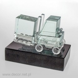 Glass miniature Forklift