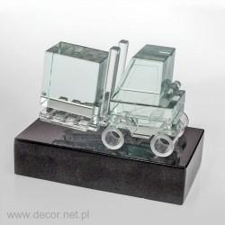 Miniatura szklana Wózek Widłowy