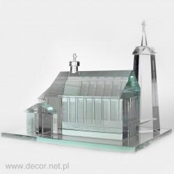 Glass miniature Church