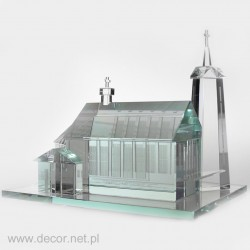Glass miniature Church