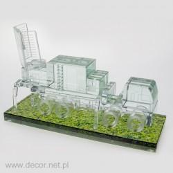 Glass miniature Radar