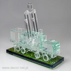 Miniatura szklana Radar