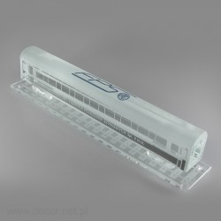 Glass miniature Train car
