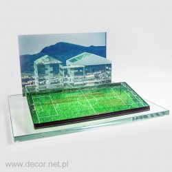 Glass miniature School